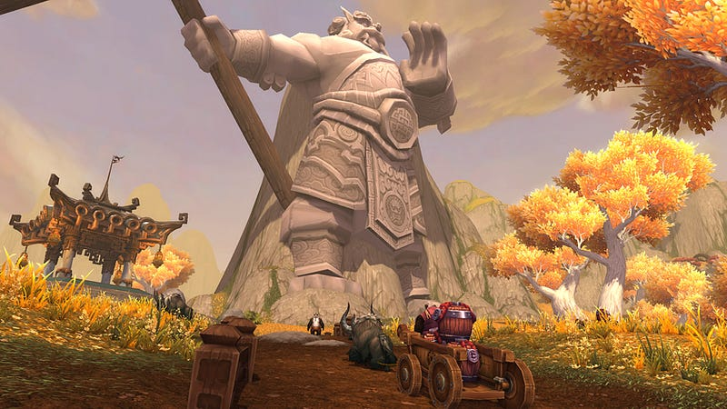 The Past, Pandaria Present, and Future of World of Warcraft