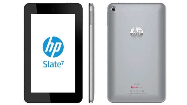 HP's Going Android With Its $169 Slate 7 Tablet