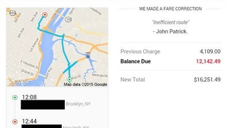 "Uber Tried to Charge a Passenger $12,000 for Her ""Car Ride from Hell"""