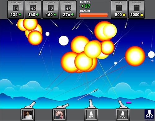 Missile Command Turns 30, Gets Remixed For Multiplayer