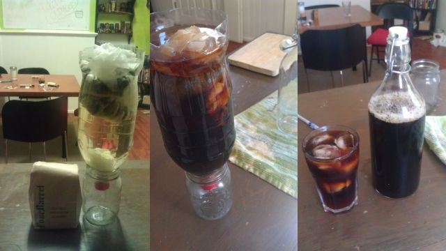 Make a DIY Cold Brewed Coffee Brewer for Practically Free