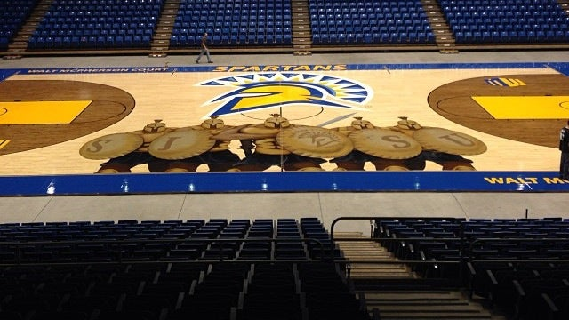 SJSU Puts Scary Spartans On Basketball Court