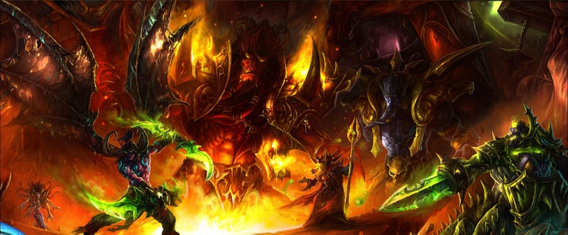 The Crushing Design Of World Of Warcraft's Big Raids