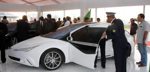 Moammar Gadhafi's Custom-Built Not-So-Rocket Car