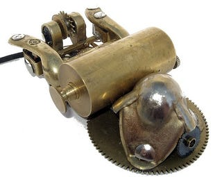 Jake's Steampunk Computer Mouse