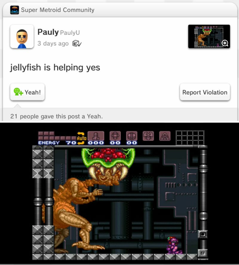 """Y Cant Metroid Crawl"" Guy Beats Metroid, Is Hilarious"