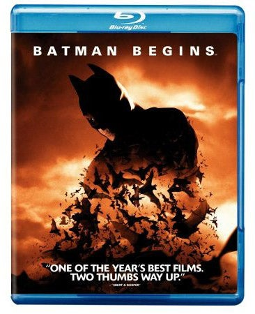 Batman Begins Now Out on Blu-ray