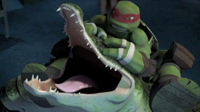 Leatherhead debuts on TMNT, a real-life Hobbit One Ring, plus a Rugrats Chanukah!