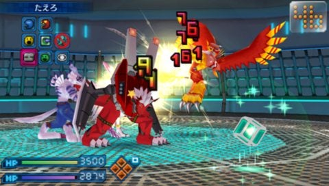Di-gi-mon, Digital Monsters ♪ Are Ready for Multiplayer Fighting on Your PSP