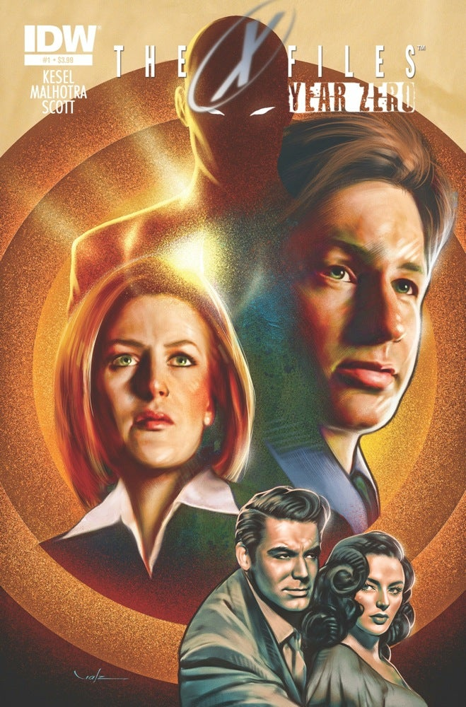Discover The Origin Of The X-Files In 1940s-Set Year Zero Comic