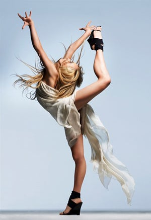 BCBG Bends, Shapes Olympian Nastia Liukin