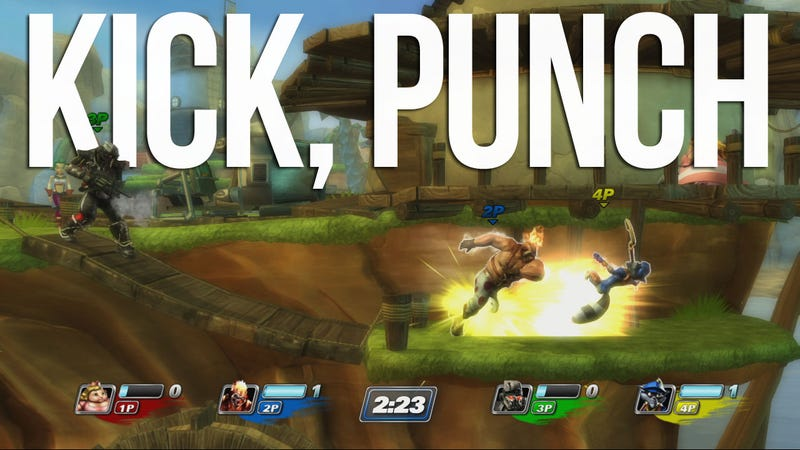Our First Punches With PlayStation All-Stars Battle Royale