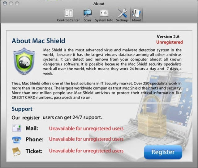 Take Note: MacDefender Malware Now Calls Itself Mac Shield