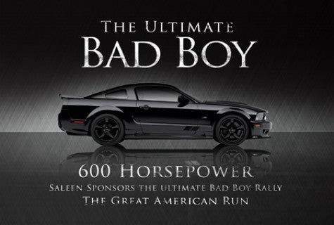 Pony Express: Saleen to Build Special-Edition Mustangs for Road Rally