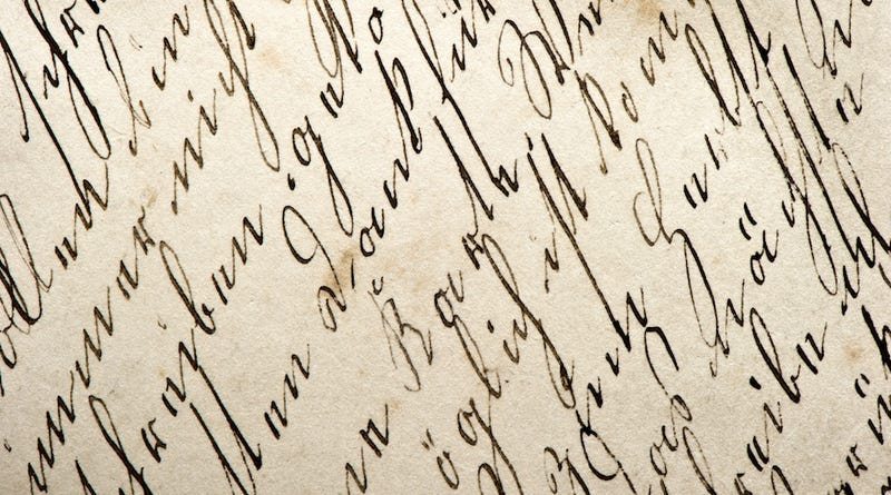 According to Your Handwriting, You're an Intense, Open-Minded Liar