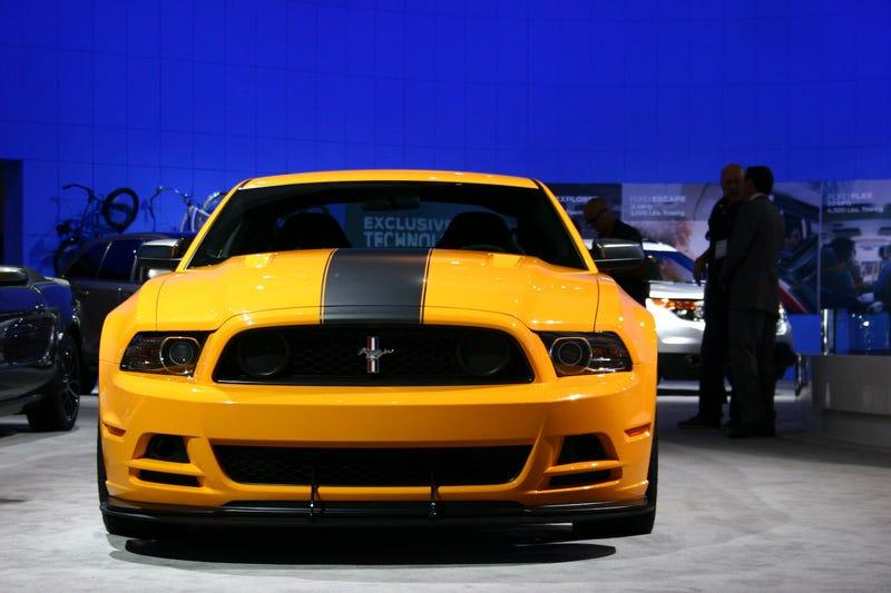 2013 Boss 302 Mustang: Live Photos