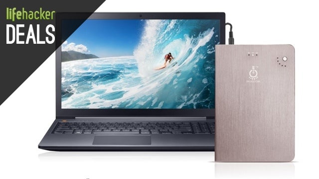 A Laptop-Charging External Battery, Sony Headphones, Cree LEDs [Deals]