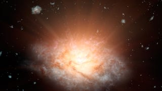 The Brightest Galaxy Ever Discovered Shines Like 300 Trillion Suns