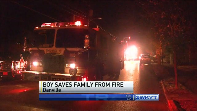 Kid Stays Up Late Gaming, Saves Family From Burning House