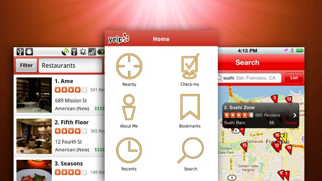 Most Popular Restaurant Discovery App: Yelp