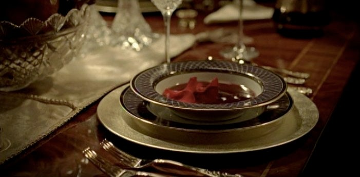 A very special True Blood vampire Nazi dinner party