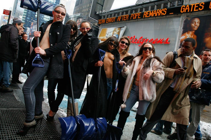 Big-Hearted Strippers Come to New York's Rescue