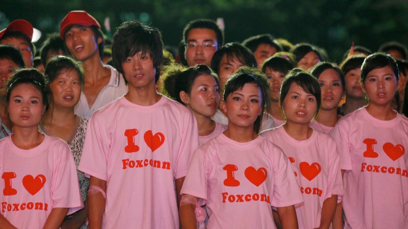 What Protests? Says Foxconn