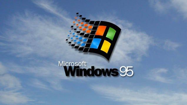 Algunas curiosidades sobre Windows 95 que talvez desconocías