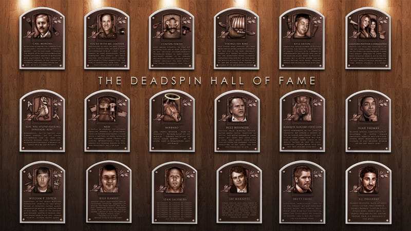 Don't Forget To Vote For The 2012 Deadspin Hall Of Fame