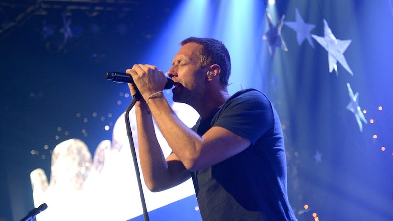 Holy Shit, Chris Martin Took His Kids to a Fast Food Restaurant