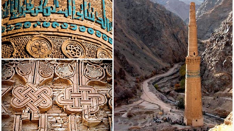 A medieval monument to religious pluralism, hidden in the mountains of Afghanistan