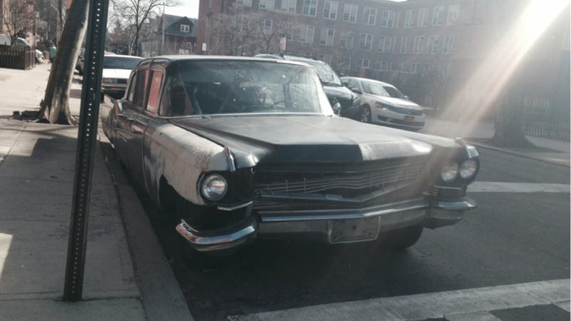 This Poor Old Cadillac Has Seen More Luxurious Days