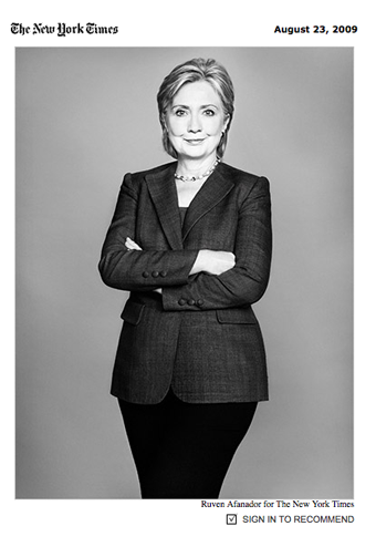 Hillary Clinton Tackles Economics, Terrorism, Microlending In NY Times Profile