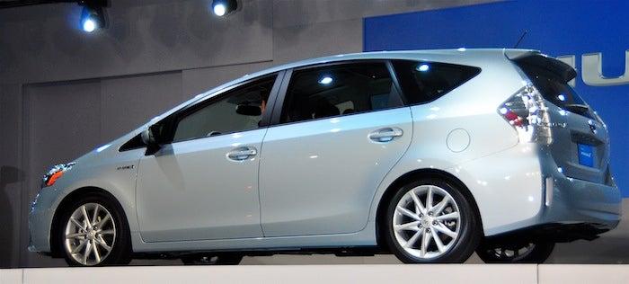 Toyota's Prius V Is The Little-Bit-Bigger Prius
