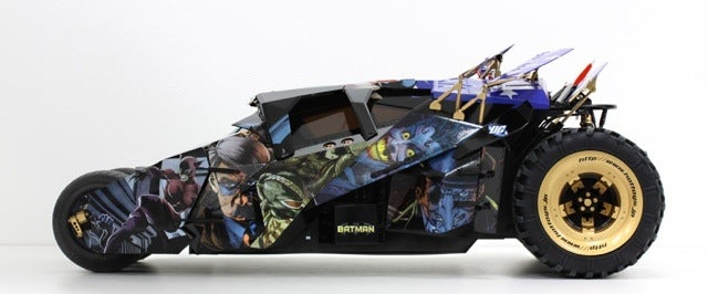 The Batmobile, Totally Geeked Out