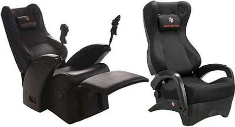 Renegade Gaming Chair Massages and Reclines