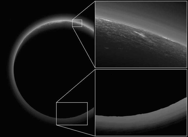 What Is This Weird Glowing Spot Hovering Over Pluto?