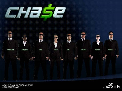 Sci Fi's Live Action Video Game Cha$e Not Half Bad