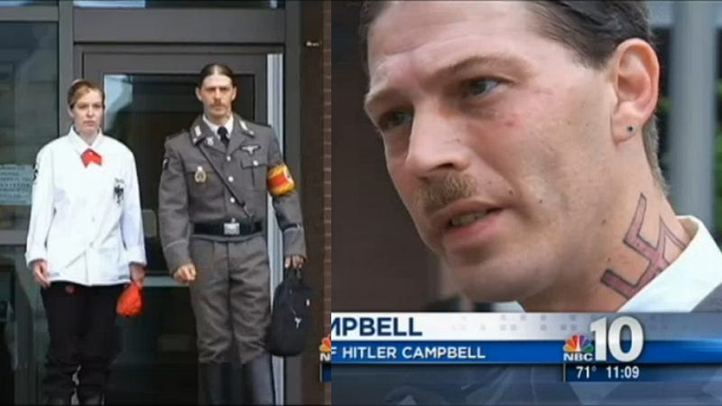 Father of Boy Named Adolf Hitler Wears Nazi Uniform to Custody Hearing