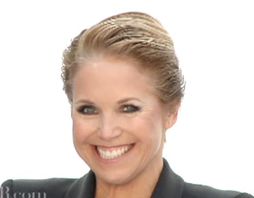 Katie Couric Glamor Shots to Save CBS News
