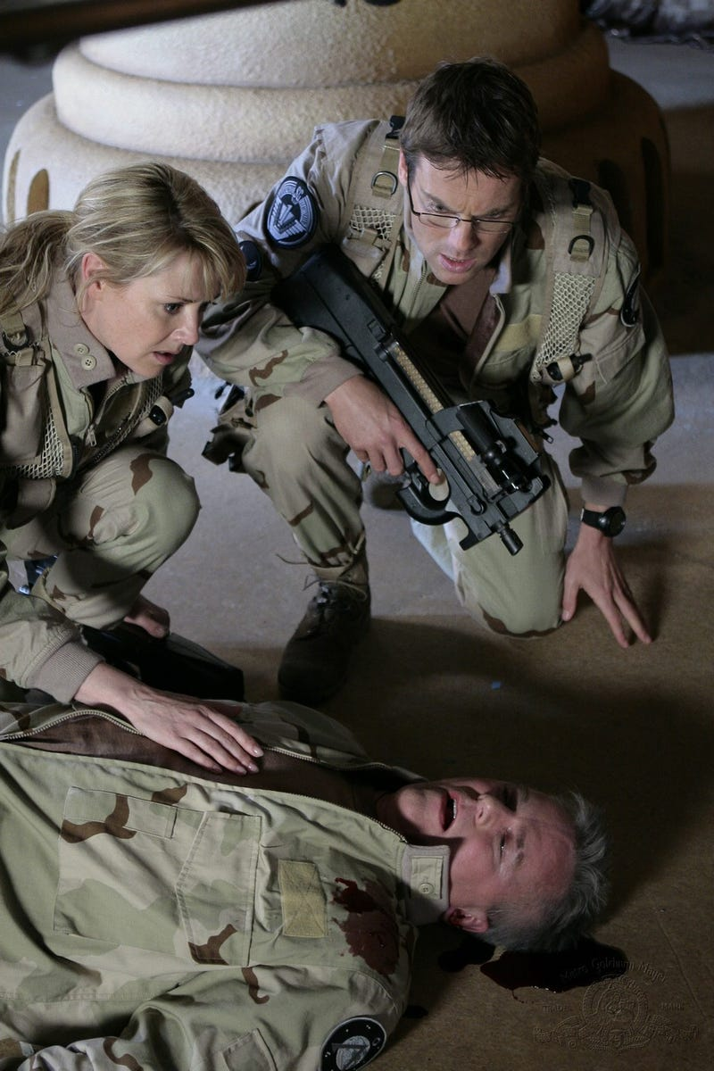Tears And Mutilations In New Stargate DVD Movie