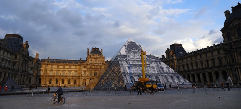 An Artist Has Made the Louvre's Pyramid Disappear