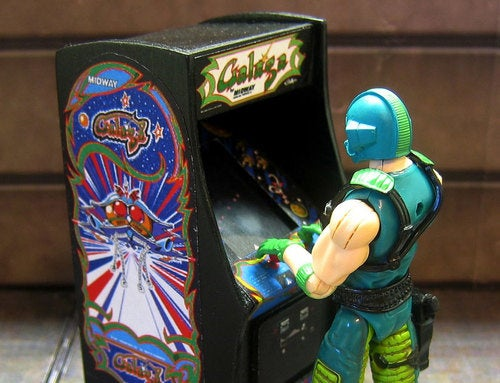 Arcade Cabinets For Your GI Joes