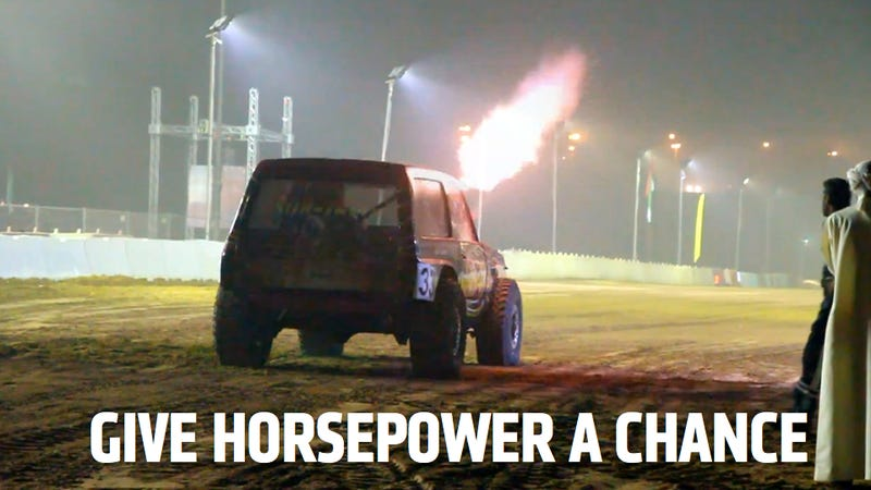 Can We Bring Peace To The Middle East Through Horsepower?