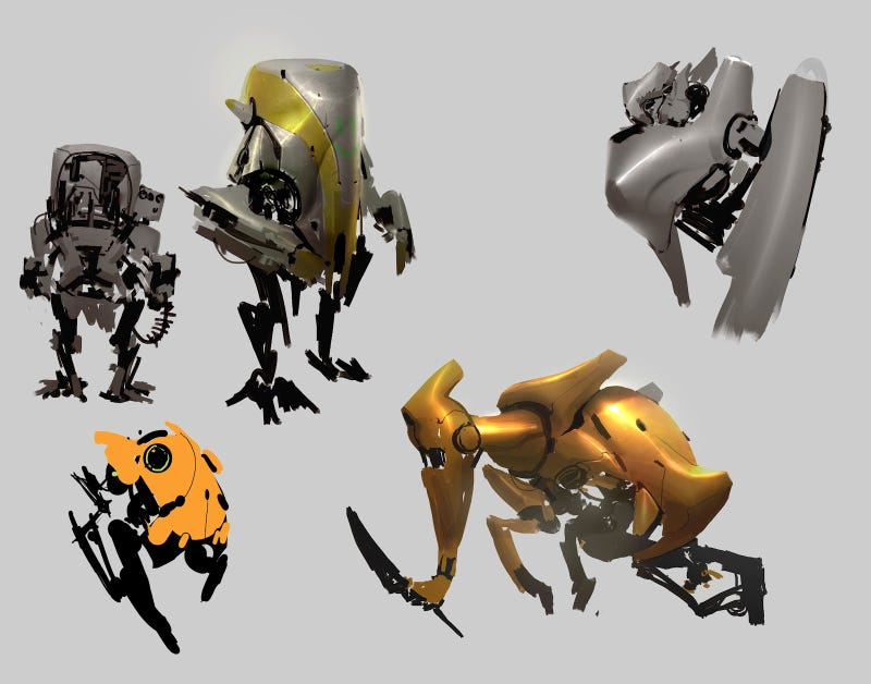 Dude, These Monsters Are Gross (But These Robots Are Great)