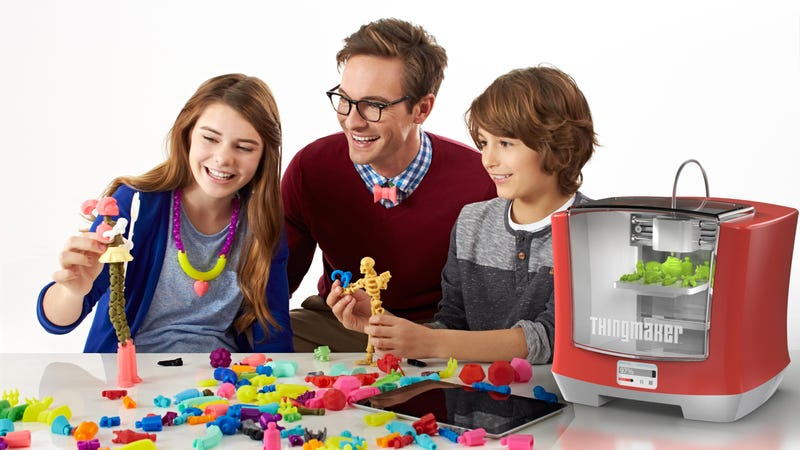 Mattel Is Making a $300 3D Printing Toy Studio For Kids