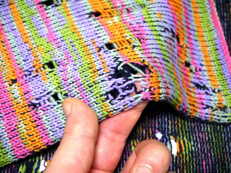 Making A Case For Intentional Stitch Glitches And Holey Knits
