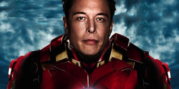 So either Elon Musk can see the future or he is truly brilliant, and is Tony Stark