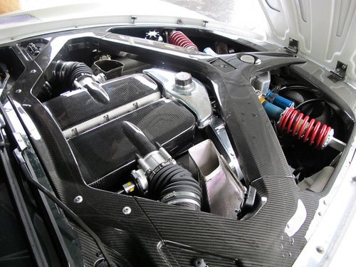 The Aston Martin One-77's Engine Bay Is Pure Carbon Fiber Sex