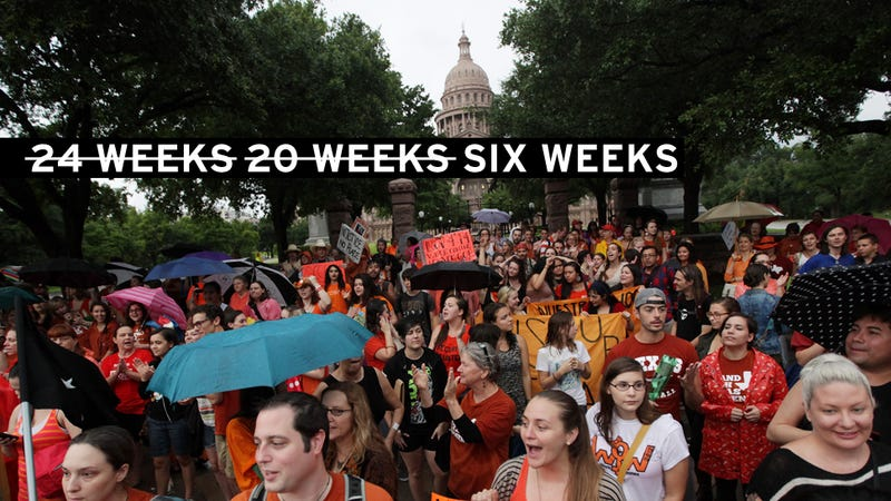 "Texas Gets Greedy: Lawmakers File ""Fetal Heartbeat"" Abortion Bill"